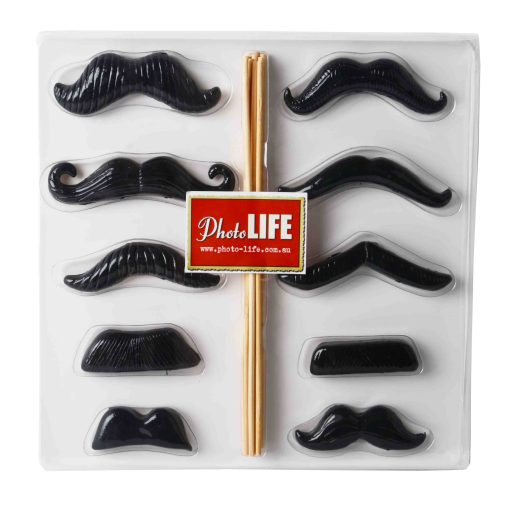 Resin Moustaches Photo Booth Props