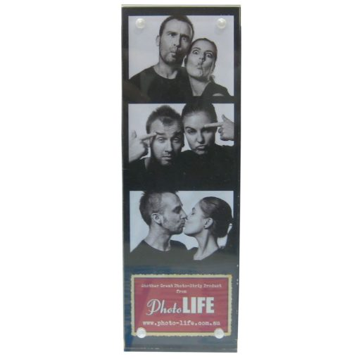 Magnetic Photo Strip Frame 2x6 Inch included in our Photobooth Sample Pack