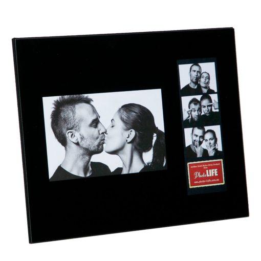 Black Glass Double Frame