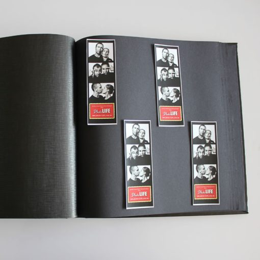 Inside Pages of Dry Mount Photo Album