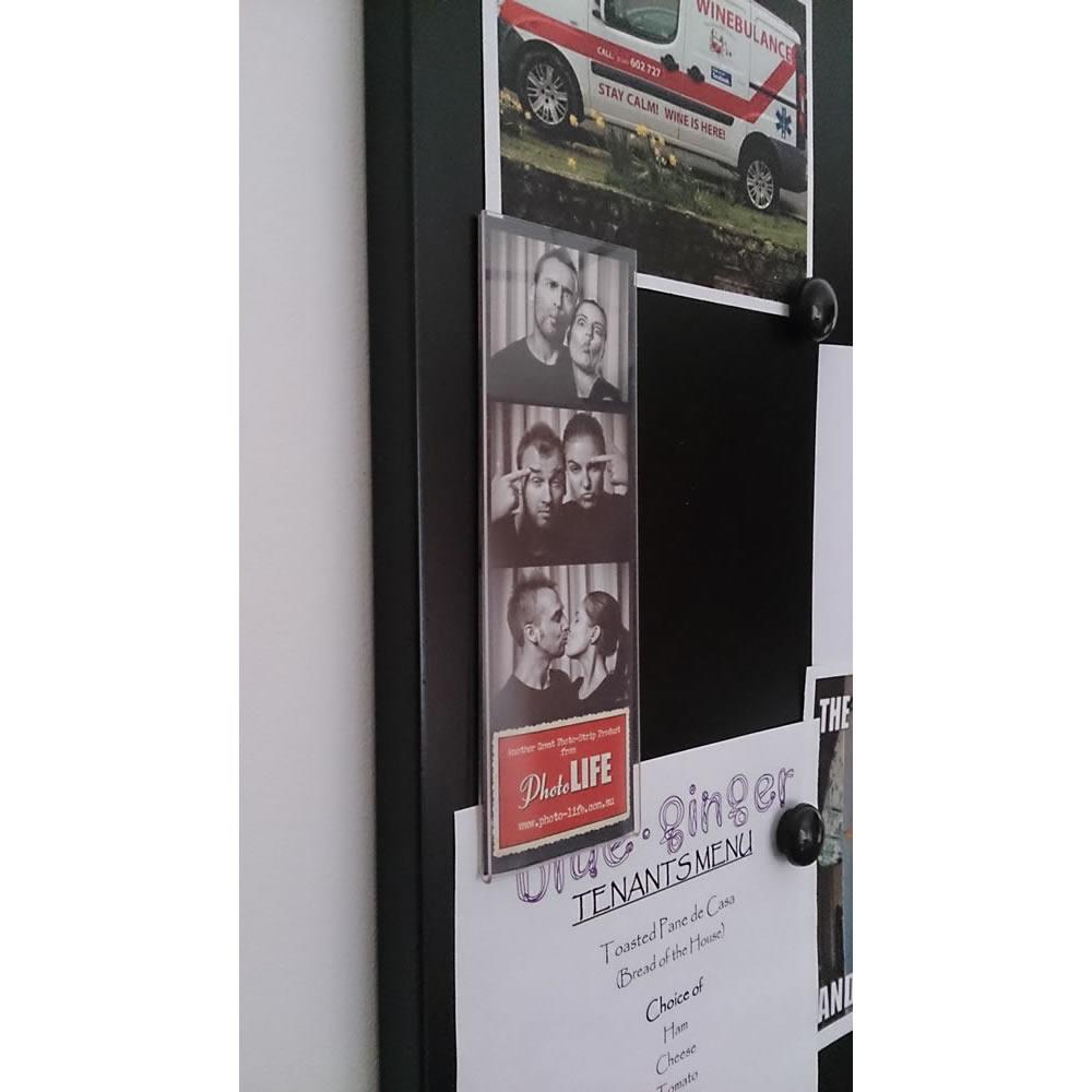Magnetic Acrylic Photostrip Frame 2x6
