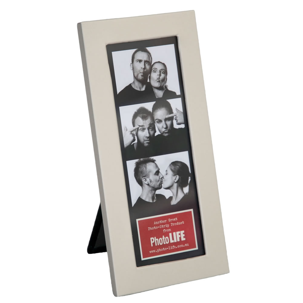 Silver Metal Photostrip Frame 2x6 Coral Coast Photo Life