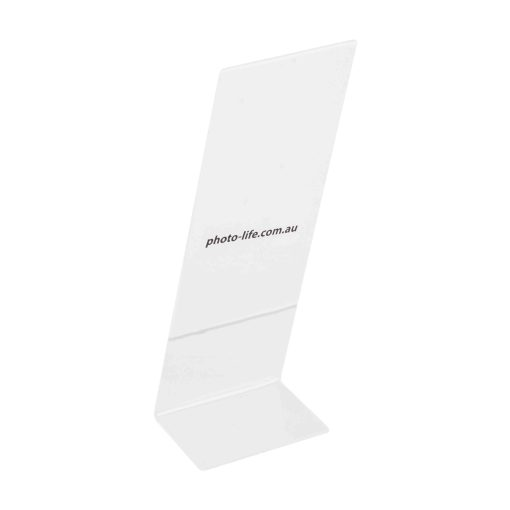 "Back View Of L Shape Photo Strip Frames 2x6"""