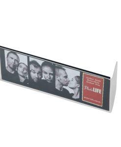 "Horizontal View Of L Shape Photo Strip Frames 2x6"""