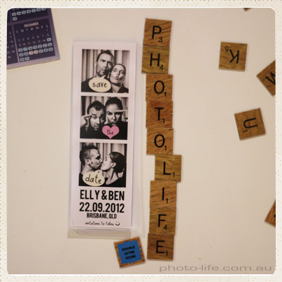 Photostrip 2×6 Inch Magnetic Frame Displayed On The Fridge