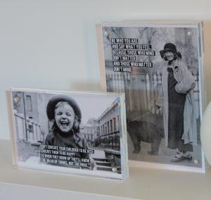 "Acrylic Block Frames 4x6"" and 5x7"""