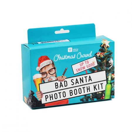 Bad Santa Photobooth Props