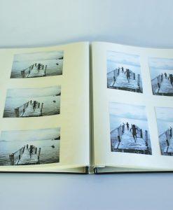 Inside Pages of Buckram Scrapbook A3