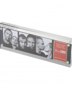 Acrylic Block Photostrip Frame Horizontal 300x300