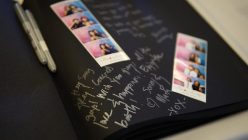 Photo Booth Guest Book by Shutterbooth