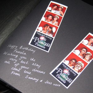 5-star quality photo albums for photo booth strips