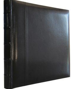 Black Leather Dry Mount Album