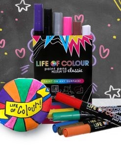 Life of Colour Classic Paint Pens, set of 12