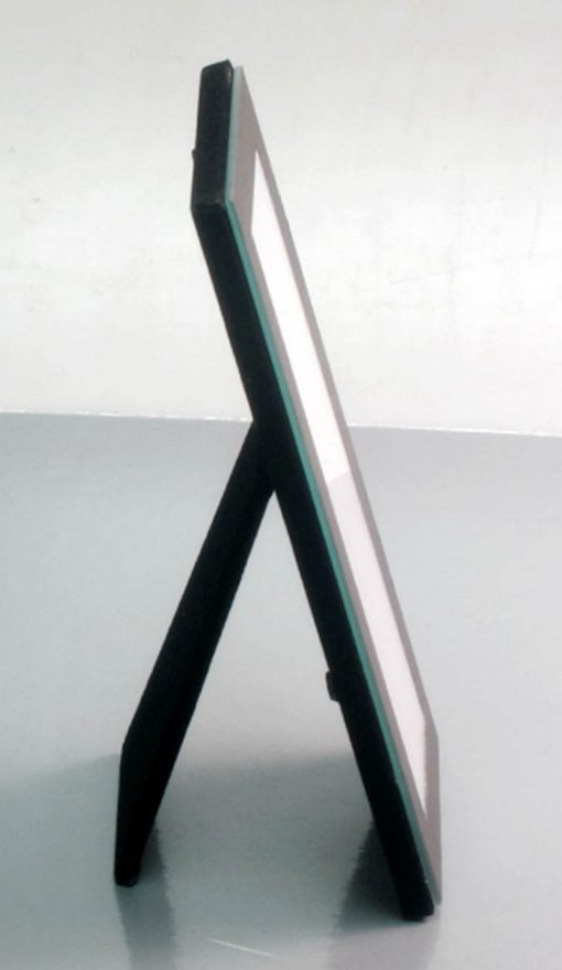 "Side View Of Photo Strip Frame Black 2x6"""