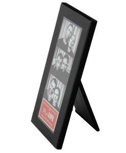 Side View Of Photo Strip Frame Black 2x6