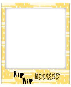 Goldbuch Hip Hip Hooray Fridge Magnet Frame