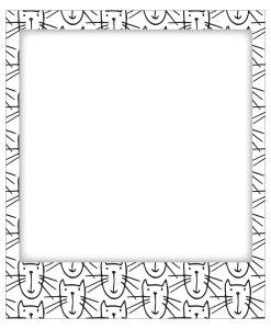 Goldbuch Katzen Fridge Magnet Frame