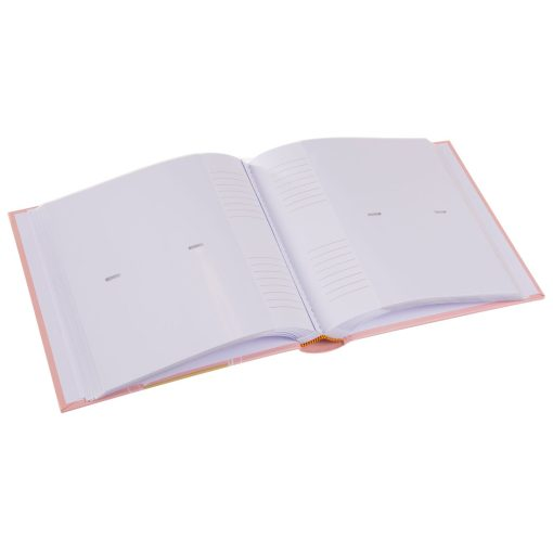 View of Inside Pages of Goldbuch Fortuna Pink 200 Slip-In Photo Album