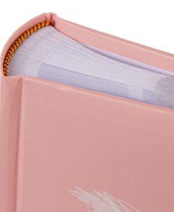 Spine View of Goldbuch Fortuna Pink 200 Slip-In Photo Album