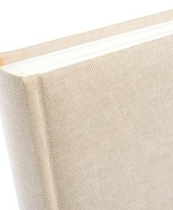 Spine View of Goldbuch Summertime Beige 25x25 Dry Mount