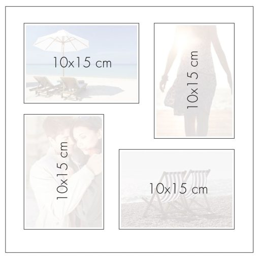 Photo Page Layout for Goldbuch Linum 30x31 Dry Mount Album