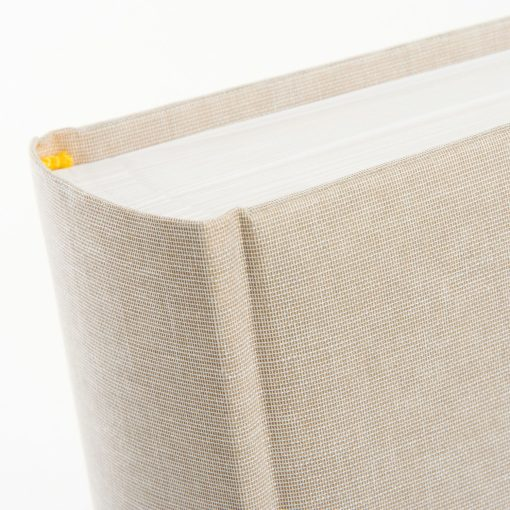 Spine View of Goldbuch Summertime Beige 30x31 Dry Mount