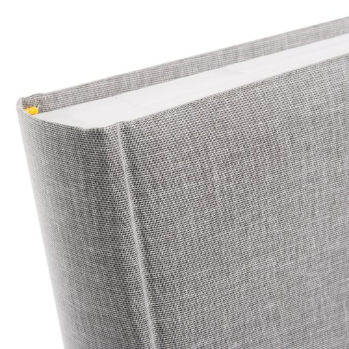 Spine View of Goldbuch Summertime Grey 30x31 Dry Mount