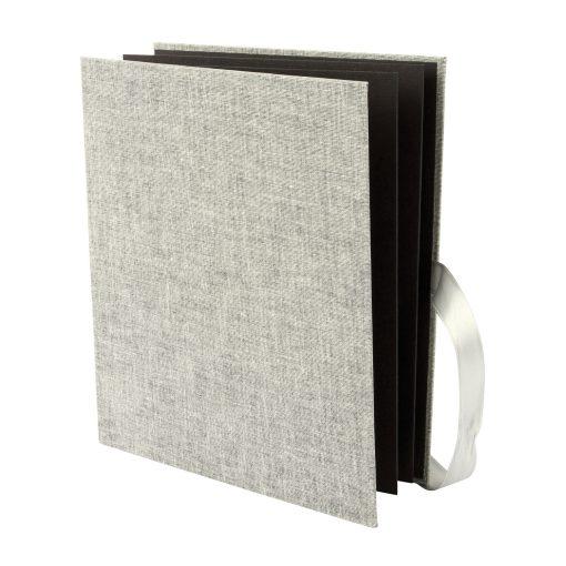 Goldbuch Leporello Linum Grey