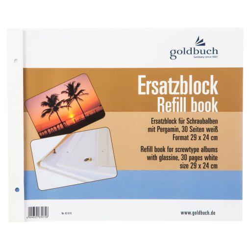 Goldbuch Refill ScrewBound 30x25