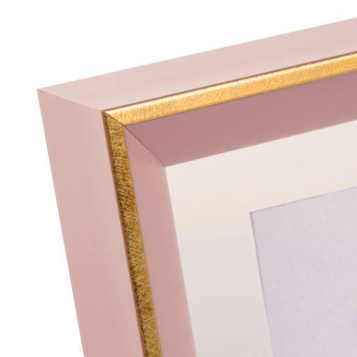 Corner View Of Goldbuch Light Spirit Frame Rose