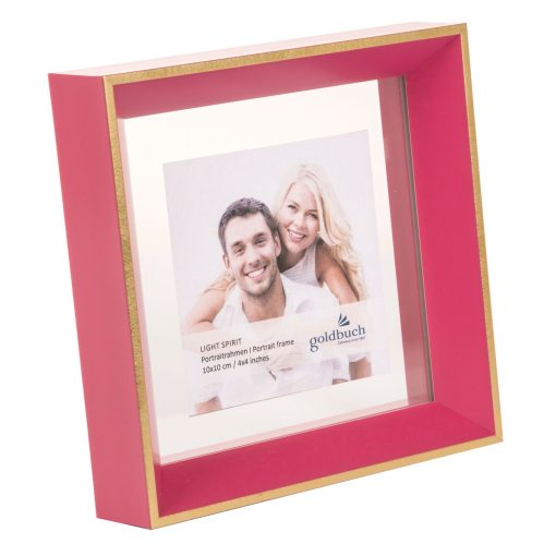 Angled View Of Goldbuch Light Spirit Frame Pink
