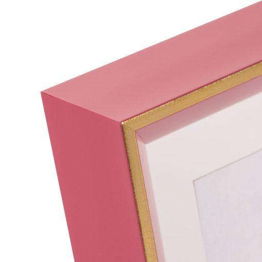 Corner View Of Goldbuch Light Spirit Frame Pink