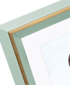 Corner View Of Goldbuch Light Spirit Frame Aqua