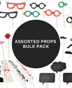 Assorted Props Bulk Pack - 50 packs